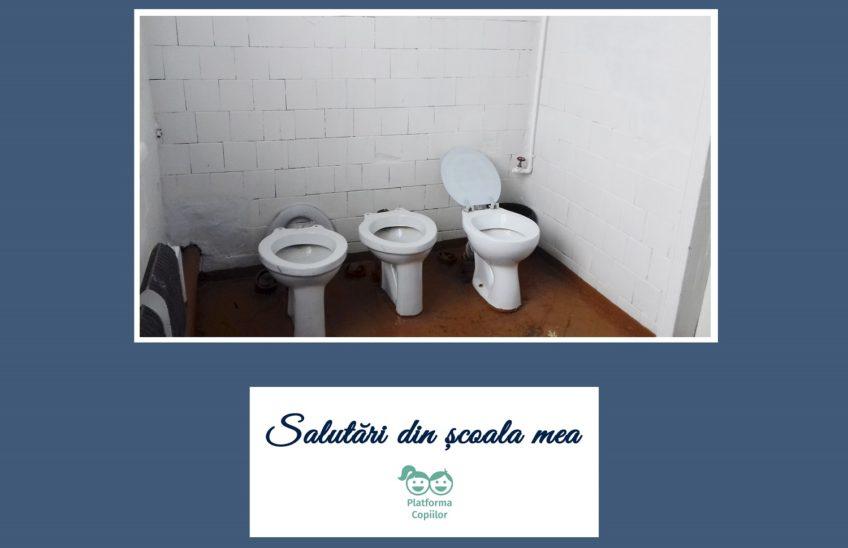 Salutări din școala mea. Condițiile de igienă și sanitație din școli.